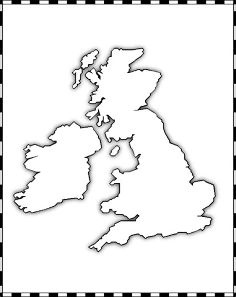 template of uk map the cartographer s annual vol 6
