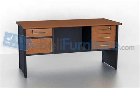 Meja Kantor Merk Vip vip ms 502 meja kantor murah bergaransi dan lengkap belifurniture