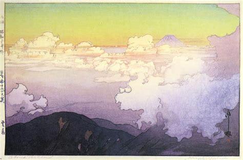 clouds  hiroshi yoshida wikiartorg