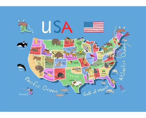 tourist map of united states of america maps of the usa the united states of america political