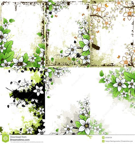 floral grunge background free stock images photos 3170938 stockfreeimages grunge floral backgrounds set royalty free stock images image 25328739
