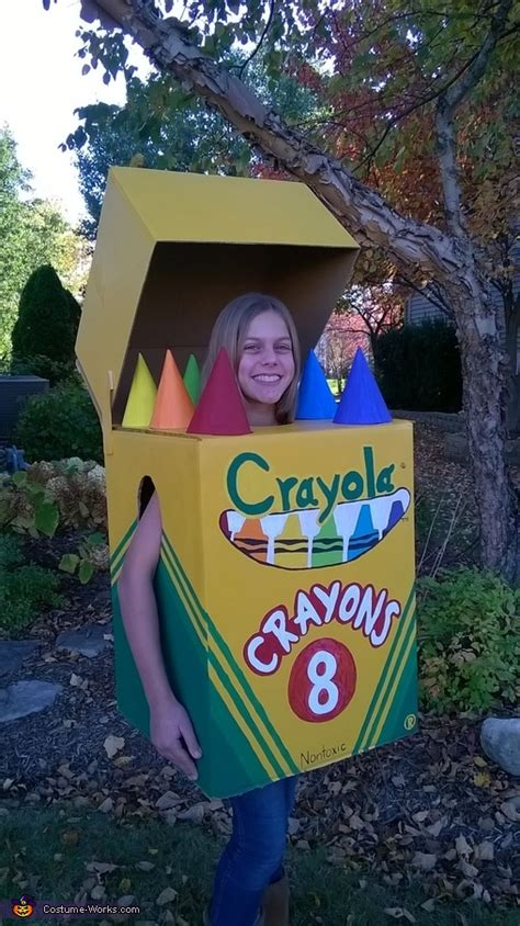 crayola crayon box diy costume