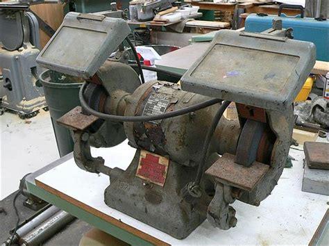 vintage bench grinder for sale photo index feed vintagemachinery org