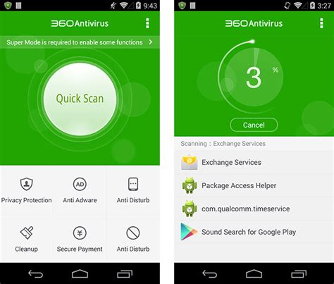 360 mobile security review test qihoo 360 360 mobile security 1 0 for android 142735
