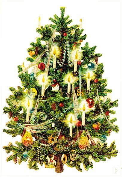 Vintage Christmas Tree christmas tree clip art