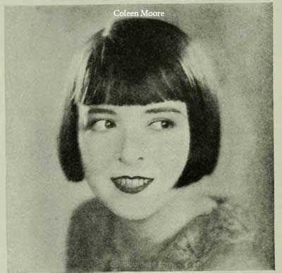 colleen christy chopped hairstyle iconic bob hairstyles of the 1920s colleen moore