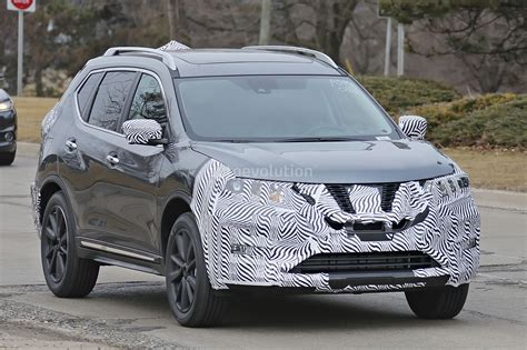 nissan new 2017 2017 nissan rogue spied with cosmetic updates autoevolution