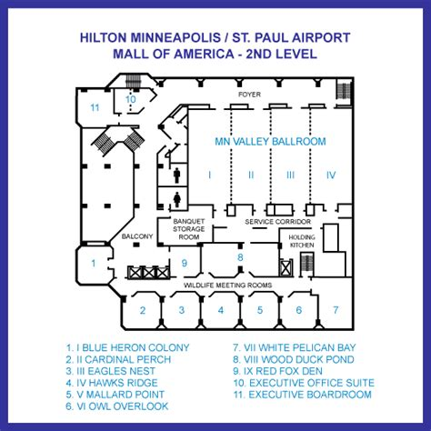 mall of america floor plan second level floor map