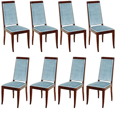 art deco dining suite at 1stdibs suite of eight french art deco dining chairs at 1stdibs