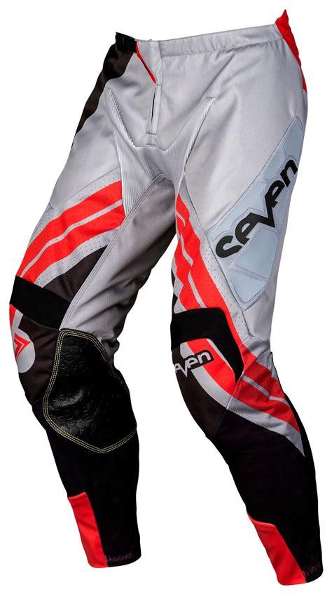 seven motocross gear seven mx rival rize pants grey red jpg