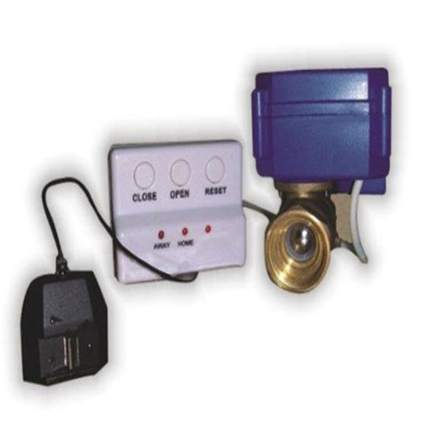 smart home automation auto shut valve water leak