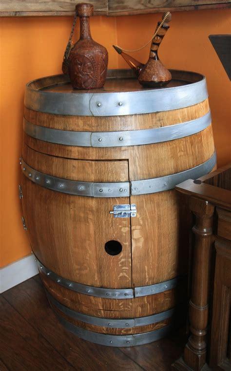 wine barrel liquor cabinet wine barrel cabinet crafty trev