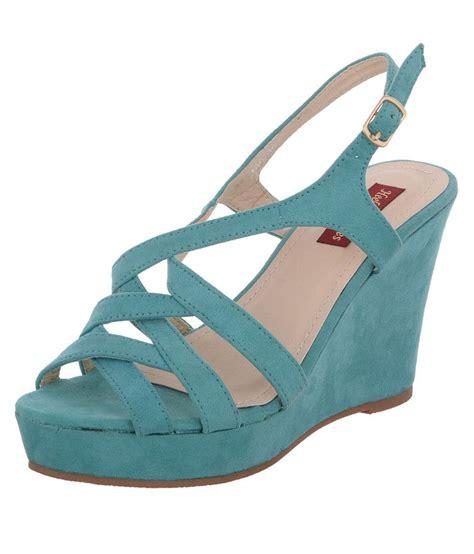 Best Seller Wedges T 1 3 8 Hitam Berkualitas Bagus heels n wedges turquoise wedges sandals buy s sandals best price snapdeal