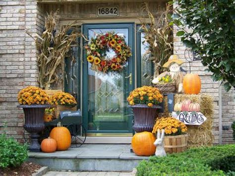 how to decorate your home for fall bloombety good autumn porch decorating ideas autumn