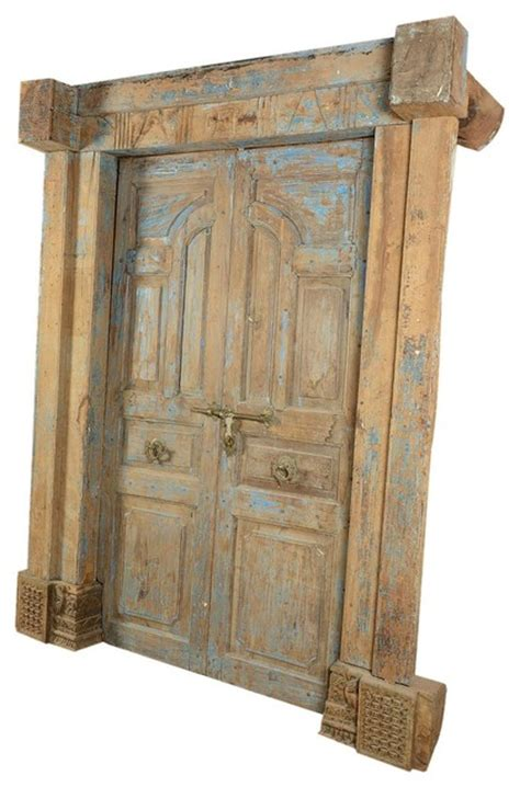100 crafted and carved paneled antique style door