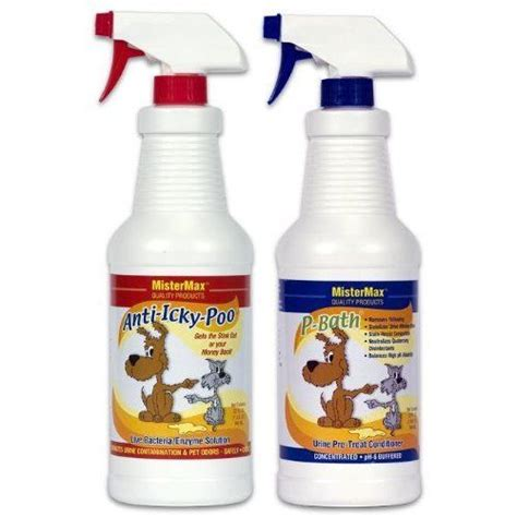 urine remover anti icky poo pet odor urine remover combo pack ebay