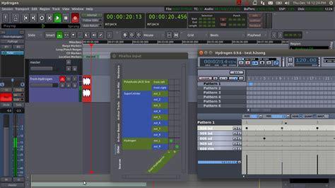 tutorial hydrogen drum machine beginner s tutorial ardour 3