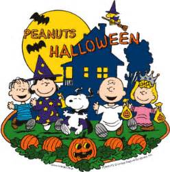 peanuts gang halloween clipart clipart suggest