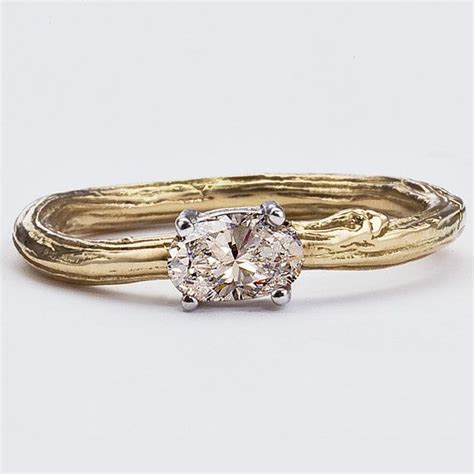 1000 ideas about twig engagement rings on