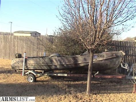duck boat manufacturers armslist for sale trade trade my camo duck boat for guns