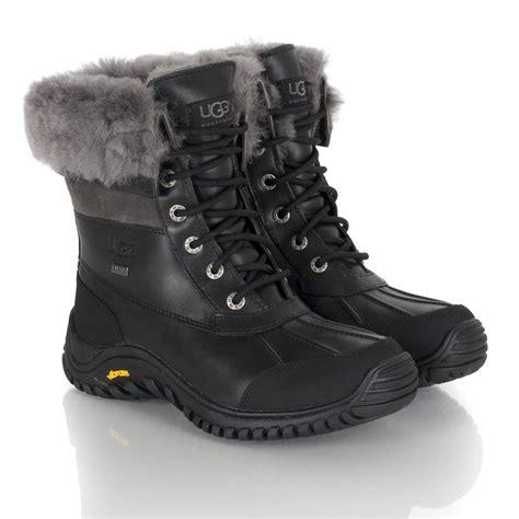 ugg 174 black adirondack womens ankle boot