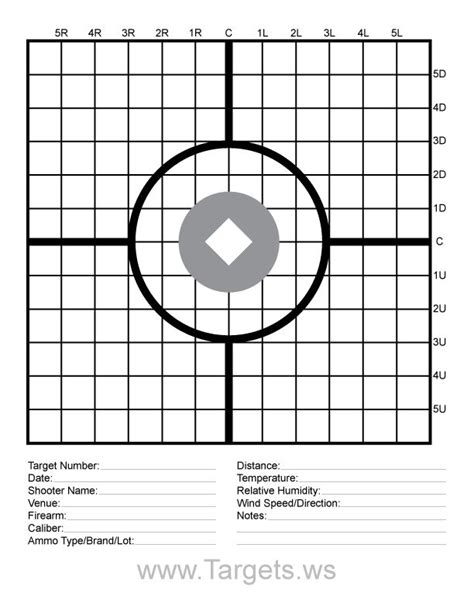 printable targets a4 targets print your own sight in shooting targets