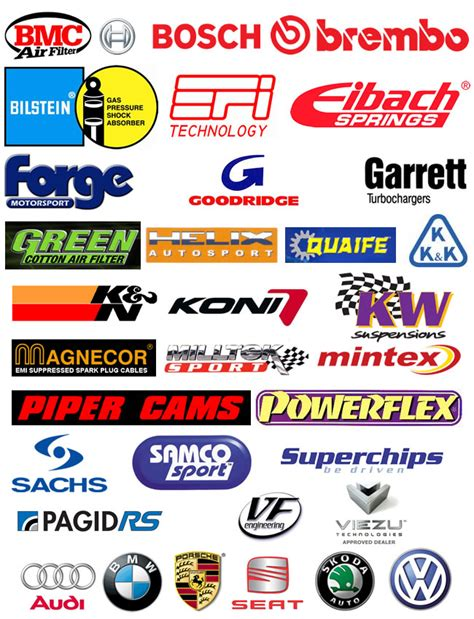 Auto Logo Tuning by 18 Company S Of Auto Part Icons Images Auto Parts