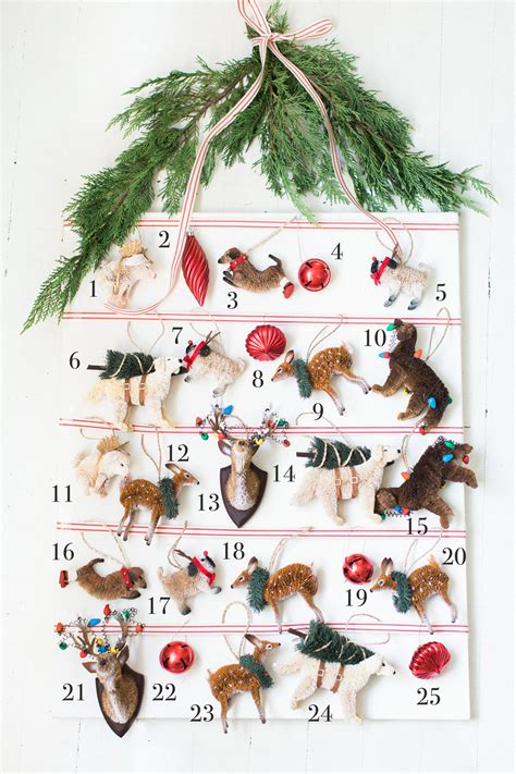 advent calendar ornaments ornament advent calendar pottery barn