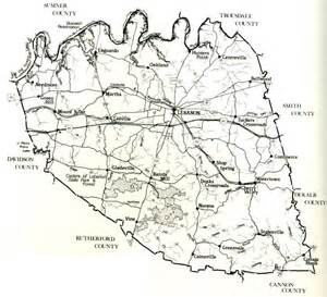wilson county map wilson county tn genealogy depot