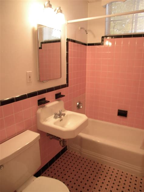 pink tiles bathroom happy new year and the pink tile bathroom is back