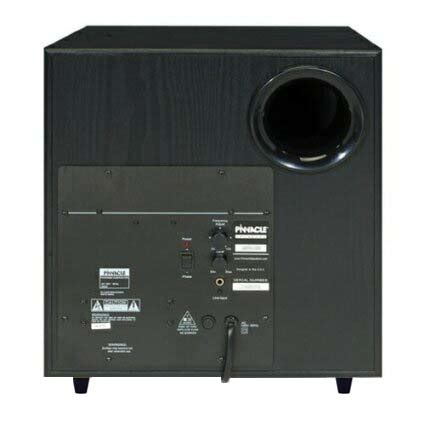 pinnacle ps subwoofer review home theater forum