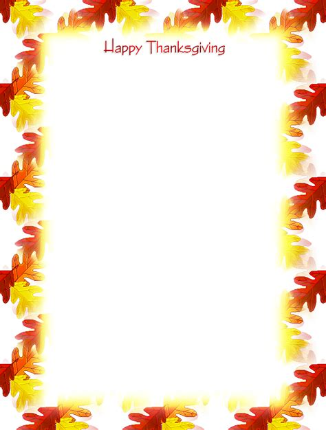 free printable unlined stationery free printable thanksgiving unlined stationery holiday