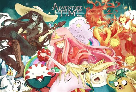 wallpaper anime adventure time adventure time by flafly on deviantart