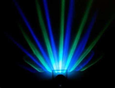 stunning rainbow illuminators projection