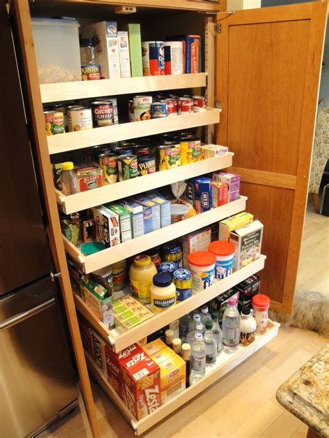 pantry cabinet with pull out shelves kitchen pantry slide out shelving home design