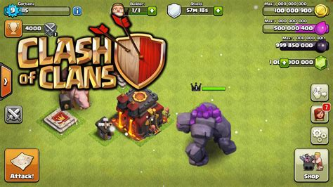 tutorial to hack clash of clans clash of clans hack mod add ip address tutorial youtube