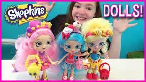 Shopkins shoppies dolls poppette bubbleisha and jessicake birthday