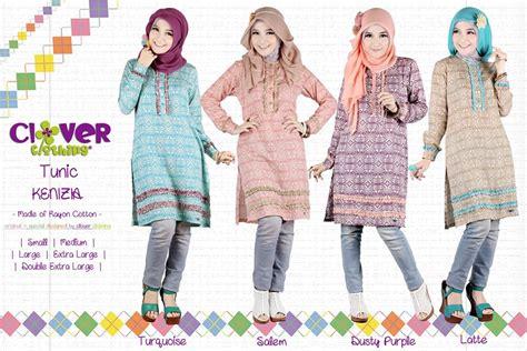 Baju Atasan Tunik Tali Radwa Katun Rayon busana muslim koleksi terbaru