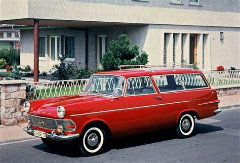 opel rekord station wagon 1960 1969