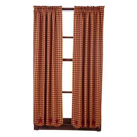 36 curtain panels burgundy star scalloped short curtain panels 63 quot x 36 quot