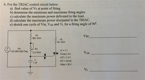 determine the power dissipated by the 40 w resistor in the circuit shown for the trlac circuit below a find value chegg