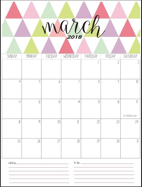 printable calendar pinterest stylish march 2018 printable calendar maxcalendars