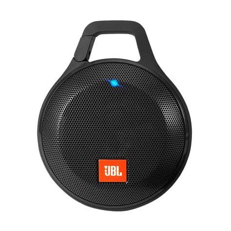 blibli jbl jual jbl clip with splashproof bluetooth speaker hitam