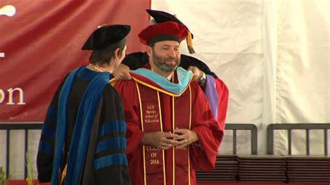 Usc Mba Tuition by 2014 Usc Rossier Doctoral Commencement