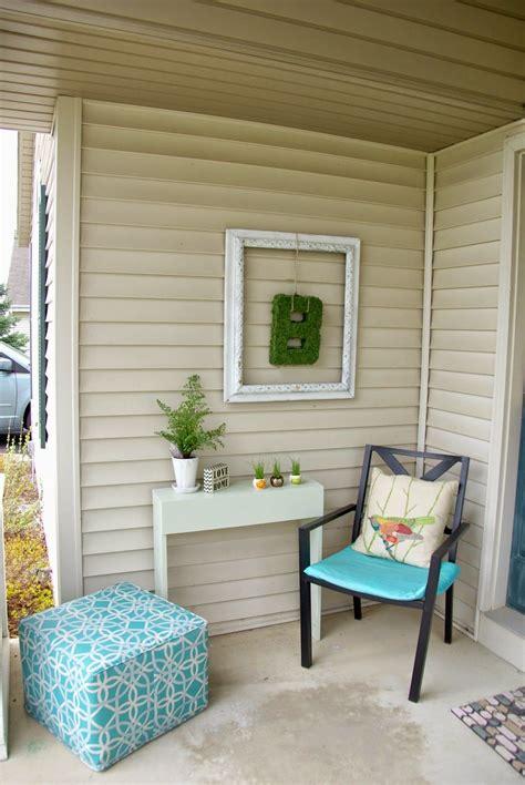 revamping  front porch porch wall decor diy outdoor