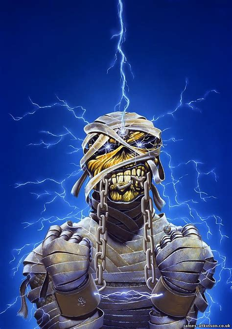 Derek Riggs Artwork by Derek Riggs Artwork For Iron Maiden Brings Back Wonderful