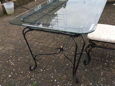 metal frame for table top 6 seater dining table metal frame glass top in brighton