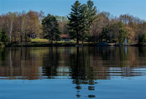 public boat launch sparrow lake now sold kahshe lake cottage for sale