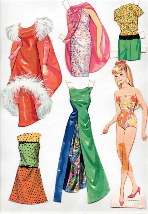 printable ken paper dolls vintage whitman mattel barbie has a new look paper dolls