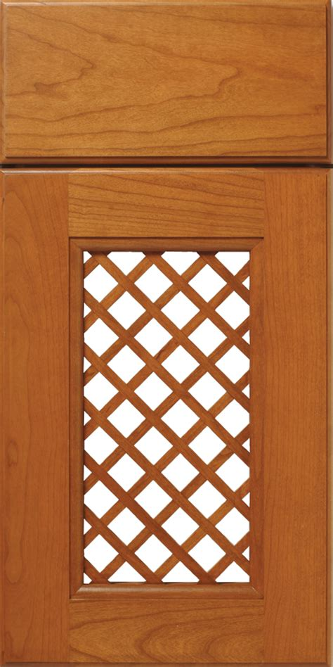 Lattice Cabinet Doors Wood Lattice Cabinet Doors Walzcraft
